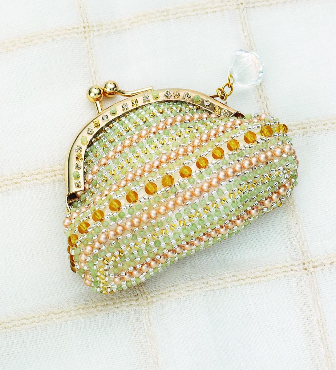 若草色のコインケース  295-1401